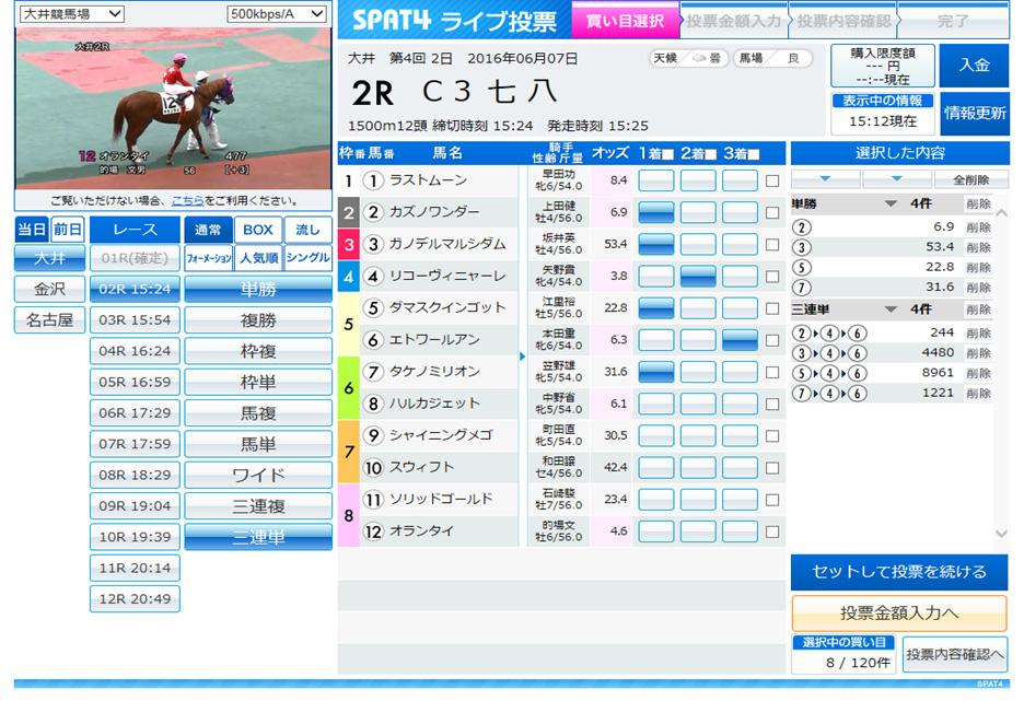 購入 競馬 ネット